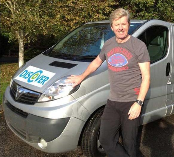 Kev & Discover Van