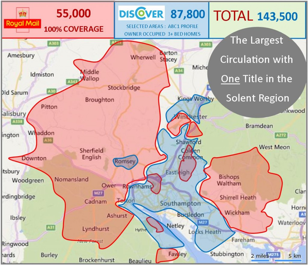 The Largest Circulation in the Solent