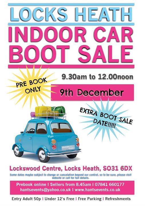 Locks Heath Indoor Car Boot